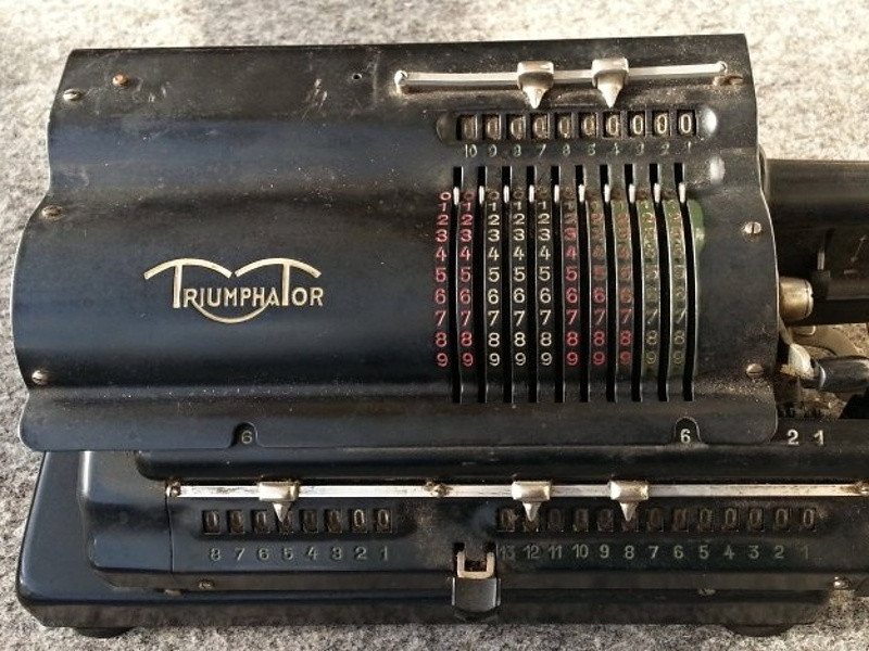 Mechanical Calculator Triumphator